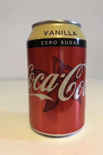 coca-cola vanilla zero sugar