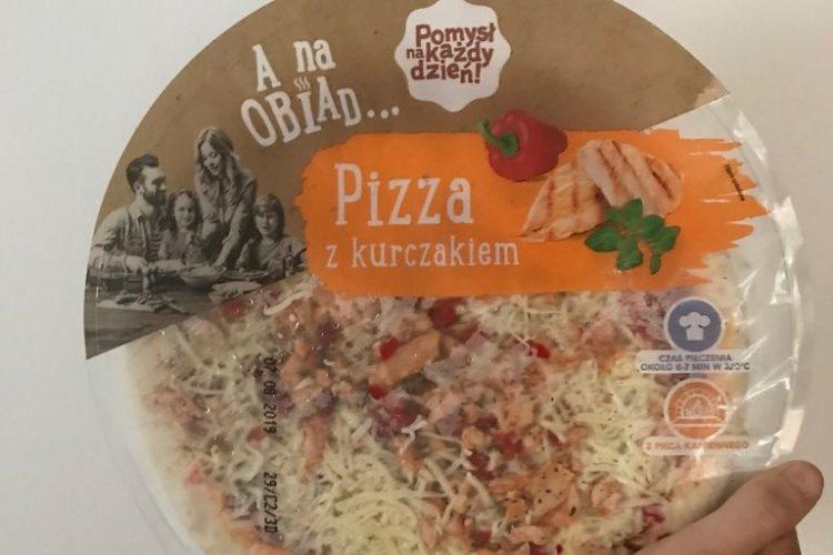 Lidl - pizza z kurczakiem