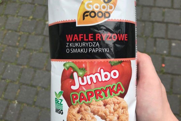 Wafle o smaku papryki